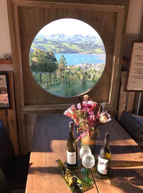 akaroa vineyward and wine tasting